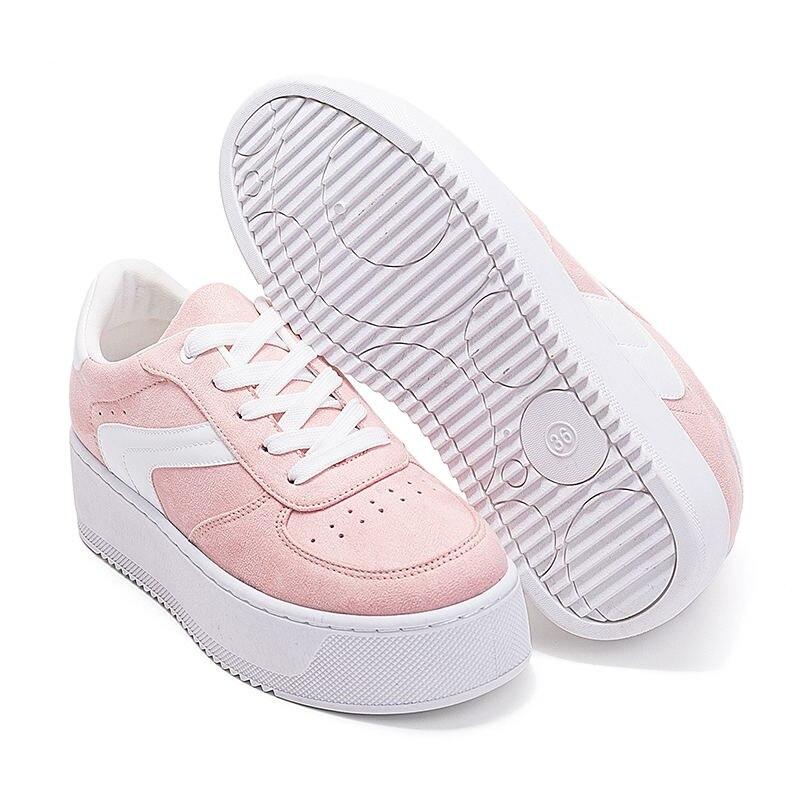 ea4fae119af Sneakers ... ontbreken.. Kopen Goedkoop LAISUMK Merk Schoenen Vrouw Sneakers  Lente Platform Vrouwen Schoenen Mode Dames Flats Dikke Zool Trainers Plus  Size ...