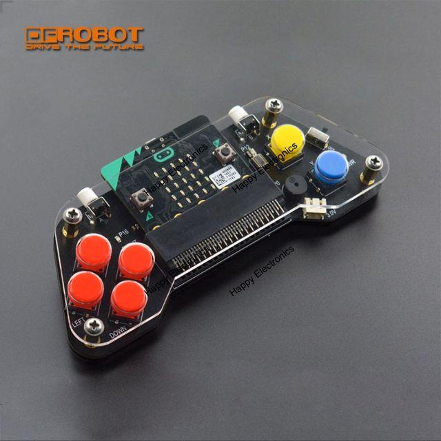 を Dfrobot マイクロ: パッドワイヤレス拡張ゲームパッド/リモコン/ゲームコンソールとアクリル板振動モータブザー LED