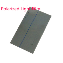Brand New 10pcs/lot  For galaxy S6 LCD Polarizer Film Polarization Polaroid Polarized Light Film for galaxy s6 LCD Screen Filter
