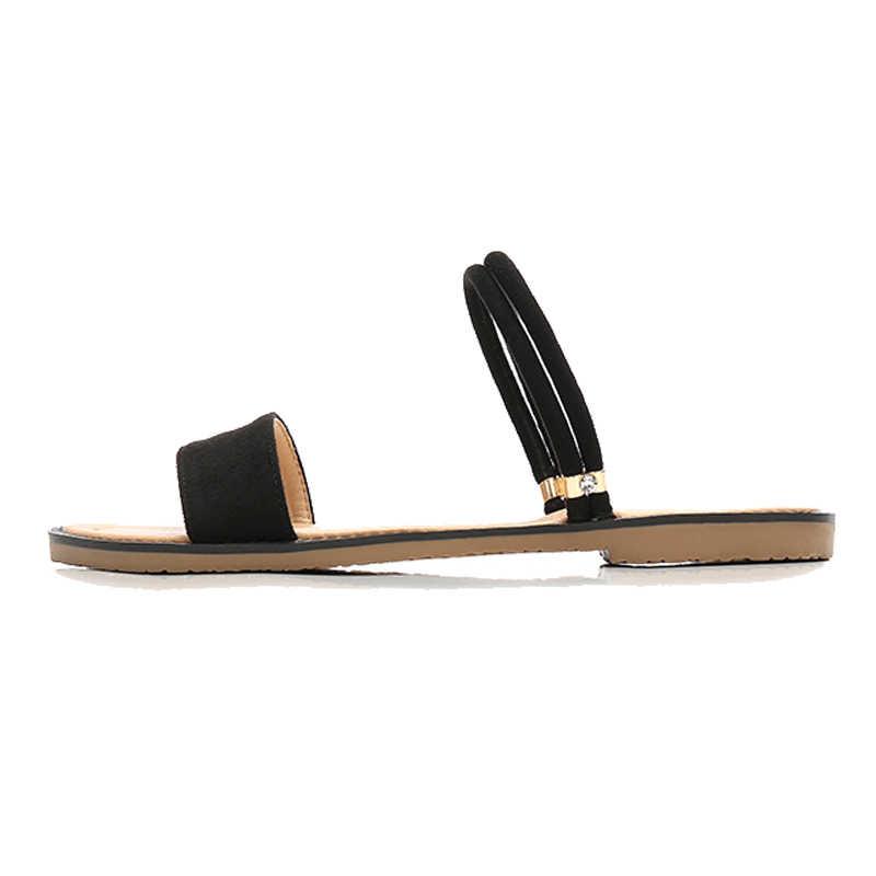 CEYANEAO แฟชั่นฤดูร้อนรองเท้าผู้หญิงรองเท้าแบนคุณภาพสูงสุภาพสตรีรองเท้าผู้หญิงรองเท้าแตะ ZH2892