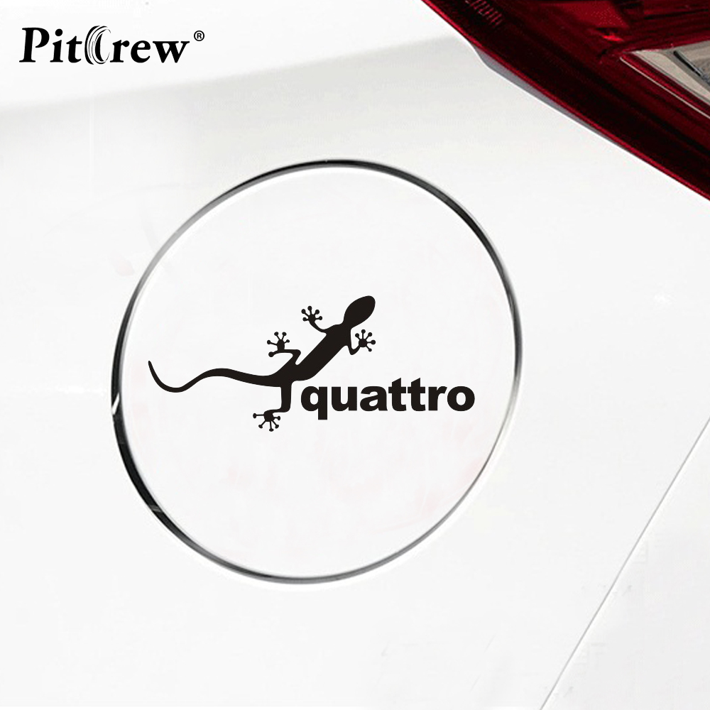 1PC 5.7*13.7CM Personalized Quattro Animals Stickers Car Styling Anime Motorcycle Car Stickers And Decals Exterior Accessor