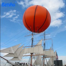 AO037 Hot Sale Big Size basketball  PVC Helium Balloons/ Party flying  pvc balloon Toys for advertising