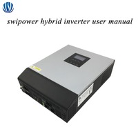 Hybrid Inverter 3KVA/5KVA PWM/MPPT Off Grid Pure Sine Wave Solar Inverter 24V/48V Battery Charger