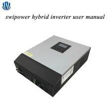 하이브리드 인버터 3KVA/5KVA PWM/MPPT 그리드 순수 사인파 태양 광 인버터 24V/48V 배터리 충전기