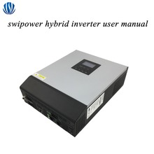 Pure Sine Battery-Charger Hybrid-Inverter Pwm/mppt-Off-Grid 3KVA/5KVA Wave 24V/48V