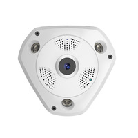 New 1 3MP Wifi Camera P2P 360 Degrees Panoramic Fisheye Camera HD 960P IP Camera