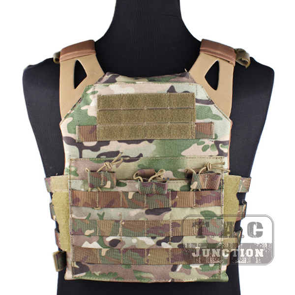 Emerson Tactical Jumpable Plate Carrier EmersonGear JPC Assault Lightweight Combat Vest Body Armor Adjustable MOLLE+ Plates emerson tactical adaptive vest avs plate carrier assault molle lightweight body armor 3 band skeletal cummerbund khaki