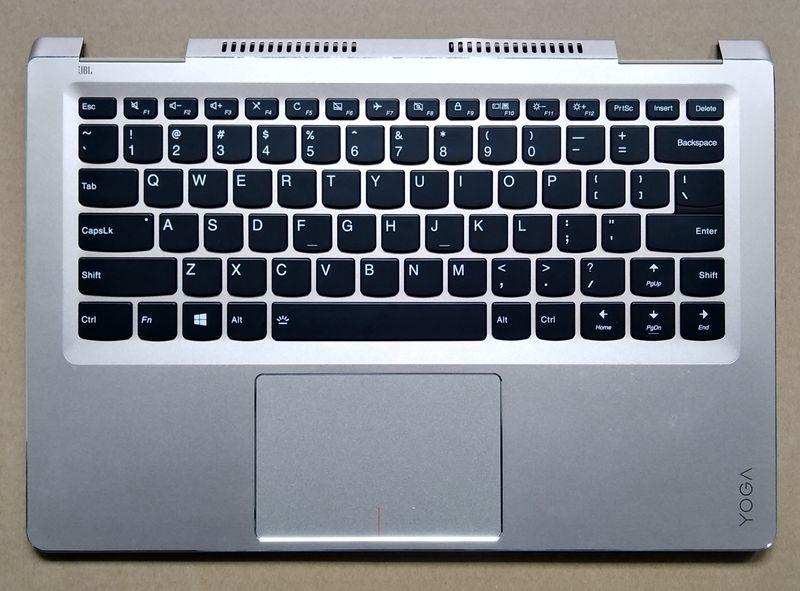 95 New Original For Lenovo Yoga 710-14ISK 710-14 Palmrest US Keyboard Upper Case with Backlit new us laptop keyboard for lenovo ideapad 100s 14ibr 300s 14isk 310s 14isk 510s 14isk keyboard us red key no frame no backlight