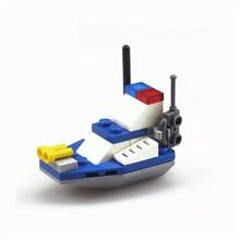1Set Building Construction Toys Yacht Model Building Kits Educational Toys Hobbies for Children Kindergarten Gifts