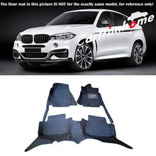 Left Hand Drive! Car Floor Mat Pad 1set For BMW X6 F16 2015 2016