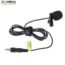Comica CVM M O2 3.5 Mm Lavalier Microfoon Omnidirectionele Revers Microfoon Voor Sony Draadloze Microfoon Zender