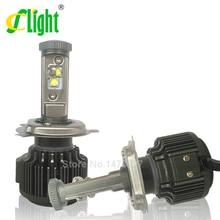 Lo nuevo H4 HB2 9003 Hi/Lo Led W/CREE Chip de Alta Potencia 40 W 4000lm 3000 K 6000 K Brillante Fuerte Conversión Linterna Del Coche Luz de Niebla Kit