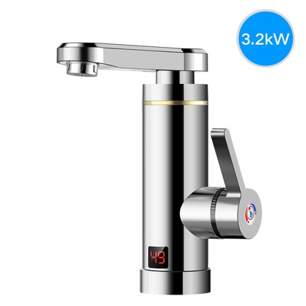 ZGD1,220V Electric Water Heater For Kitchen Bathroom Instant Tankless Heating Tap Electric Water Heater Faucet Fast Heater