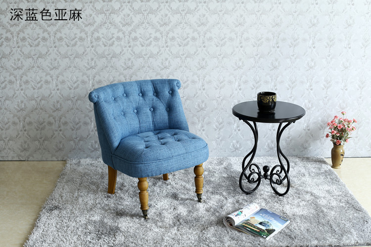 Mid Century Modern Style Sofa / Love Seat With Wood Legs Living Room ...