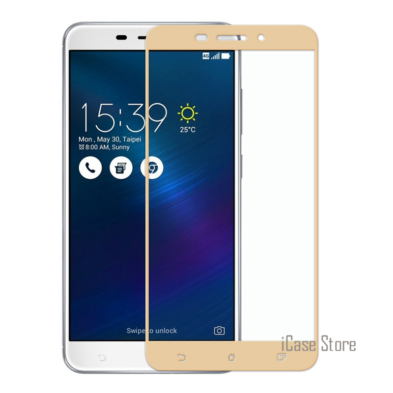 Full Cover Screen Protector Tempered Glass Asus Zenfone 2 3 ZB501KL ZC520TL ZE520KL ZE552KL ZC553KL ZE553KL Max 0.2mm 9H
