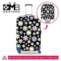 Dispalang Floral Suitcase Cover Brand Luggage Protective Cover Flower Luggage Case Cover For 18-30 inch Best Luggage Bag Cover