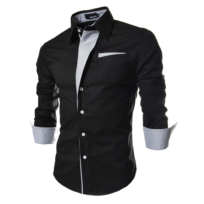 Black Button Up Shirt Mens
