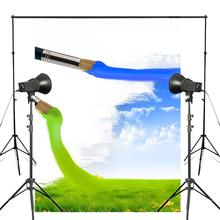 150x220cm Creative Wallpaper Studio Photography Backdrop Blue Green Brush Backdrops Photography Background Wall