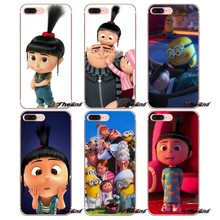TPU Cover Tas Pluizige Eenhoorn Agnes Minions Voor Samsung Galaxy S2 S3 S4 S5 MINI S6 S7 edge S8 S9 Plus Note 2 3 4 5 8 Coque Fundas(China)