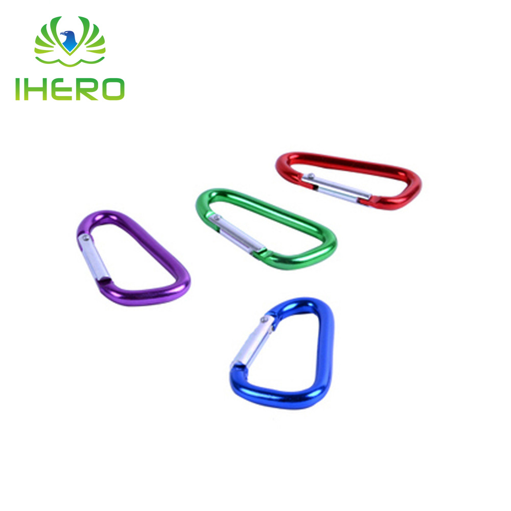 Small Carabiner Keychain Buckle Kettle Quickdraw Hanging Hook Outdoor Climbing Mountaineering Equipment