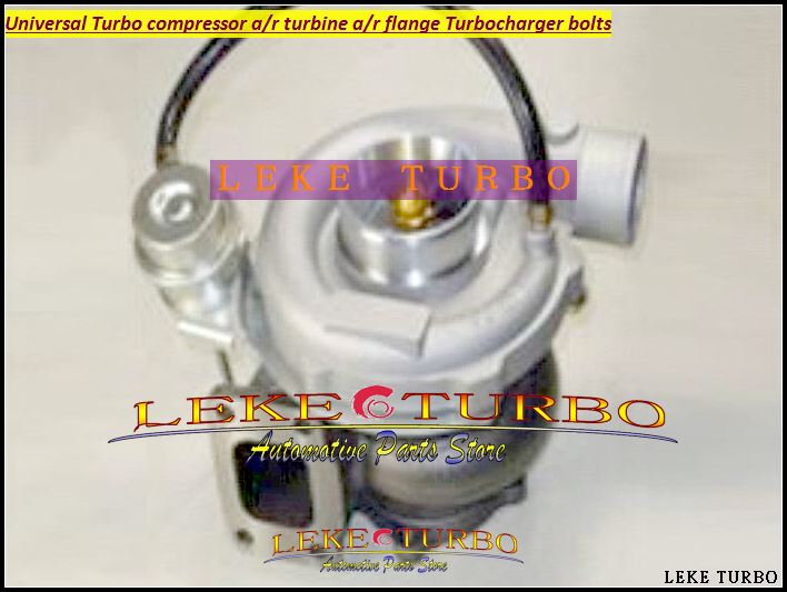 Universal Turbo GT3582-4 Compressor AR 0.50 Turbine AR 1.06; T3 flange;Outlet 5 bolt;Water Cooled ;Journal bearing Turbocharger kinugawa turbine outlet steel flange 5 bolt f rd falcon xr6 g rr tt gt3540 turbo 412 03002 006