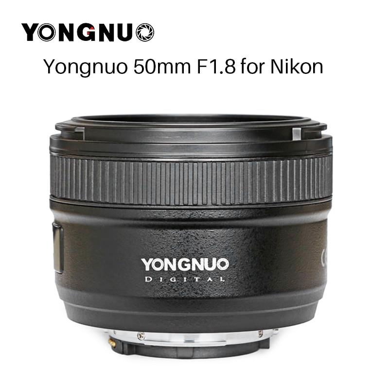 NEW YONGNUO YN50MM F1 8 Camera Lens for Nikon D800 D300 D700 D3200 D3300 D5100 D5200