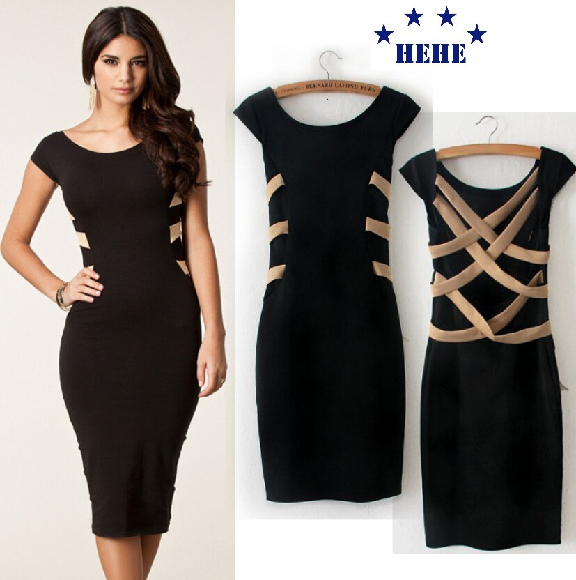 Brand New Women Work Wear Formal Office Dresses Ladies Elegant