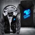 New Anime Fairy Tail Thicken Jacket Sweatshirts Hoodie Luminous Unisex Clothing coat USA Size