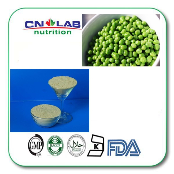 ФОТО 1kg/ bag Non-GMO Certified 85% Organic Pea Protein Powder in bulk