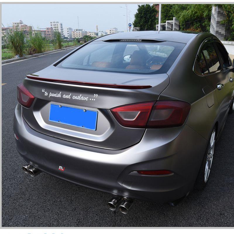 Автомобильный Стайлинг ABS пластиковый Неокрашенный праймер Цвет Внешний Хвост Багажник крыло задний спойлер украшение для Chevrolet спойлер