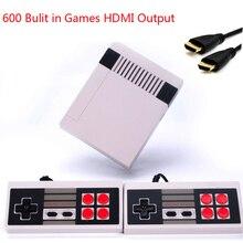 Coolbaby Saída HDMI Mini TV Jogo Handheld Console de Vídeo Game Console Para Jogos de Nes com 600 Diferentes PAL