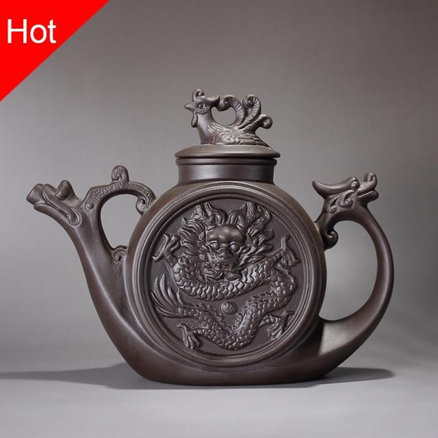 30ml Mini Xi Shi Tea Pot Yixing Zhisha Teapots Small Porcelain