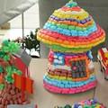 1000 pcs magia milho mixed cor argila plasticina não tóxico material natural 3D DIY brinquedos educativos para crianças frete grátis