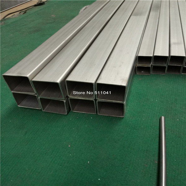 Titanium square tube Grade 2 titanium metal Trangle Corner SEAMLESS tube,45*45*2MM ,1000mm Length,3pcs,free shipping