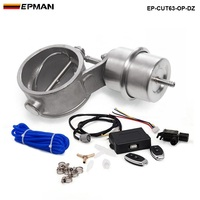 2 48 63mm Open Style Vacuum Exhaust Cutout Valve With Wireless Remote Controller Set TK CUT63OP