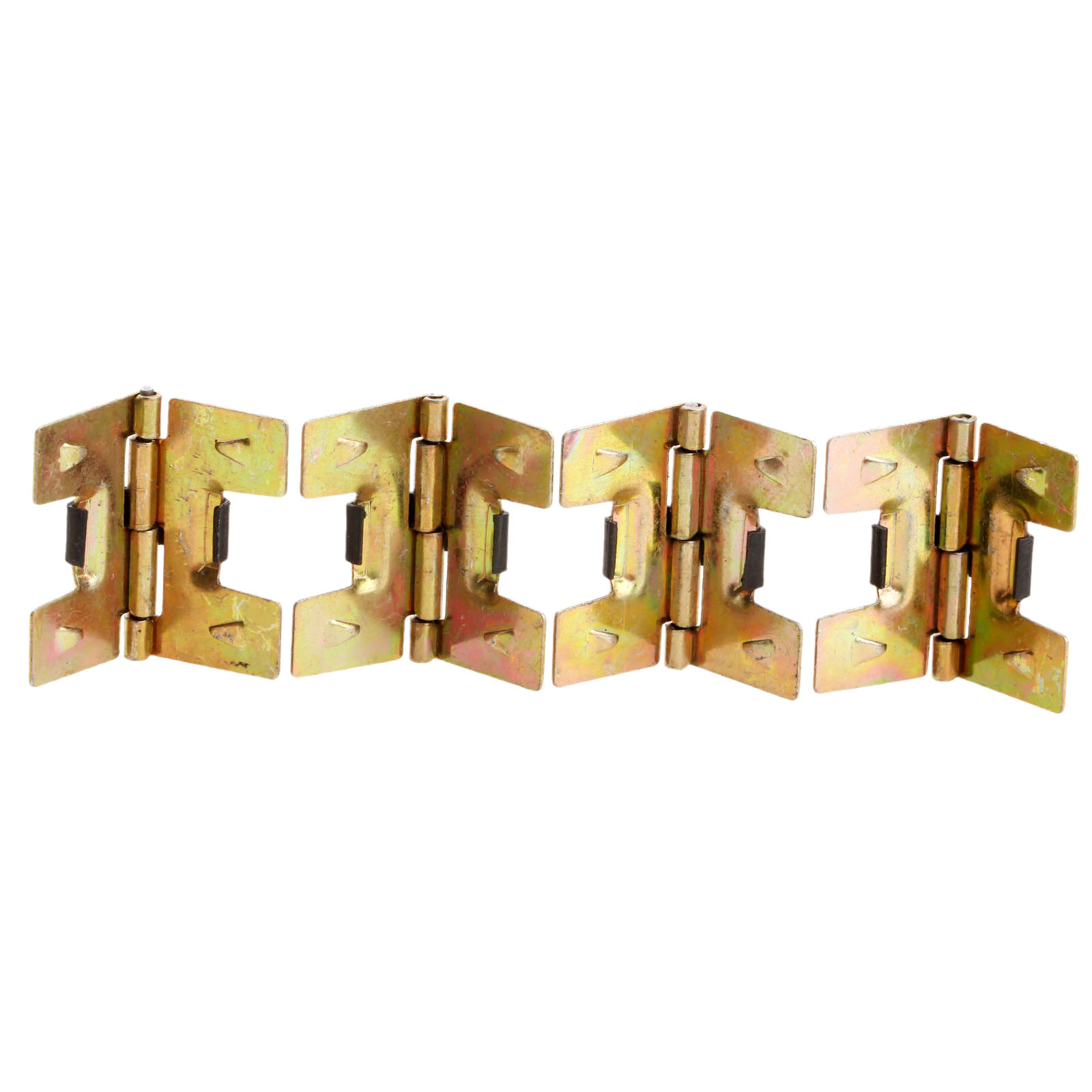 4Pcs 19x18mm Gold Cabinet Hinges Furniture Accessories Small Wooden Gift  Box Decorative Hinges Fitting For Furniture Hardware In Cabinet Hinges From  Home ...
