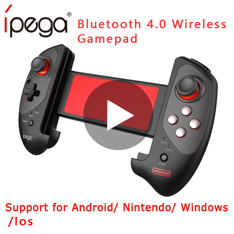 Ipega 9083 Wireless Game Pad Bluetooth Gamepad Controller Mobile Trigger  Joystick For Android Cell Phone Console Dzhostik
