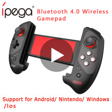Ipega 9083S Wireless Game Pad Gamepad Controller Bluetooth Mobile Trigger Joystick Per Il Telefono Cellulare Android Console pubg Dzhostik(China)
