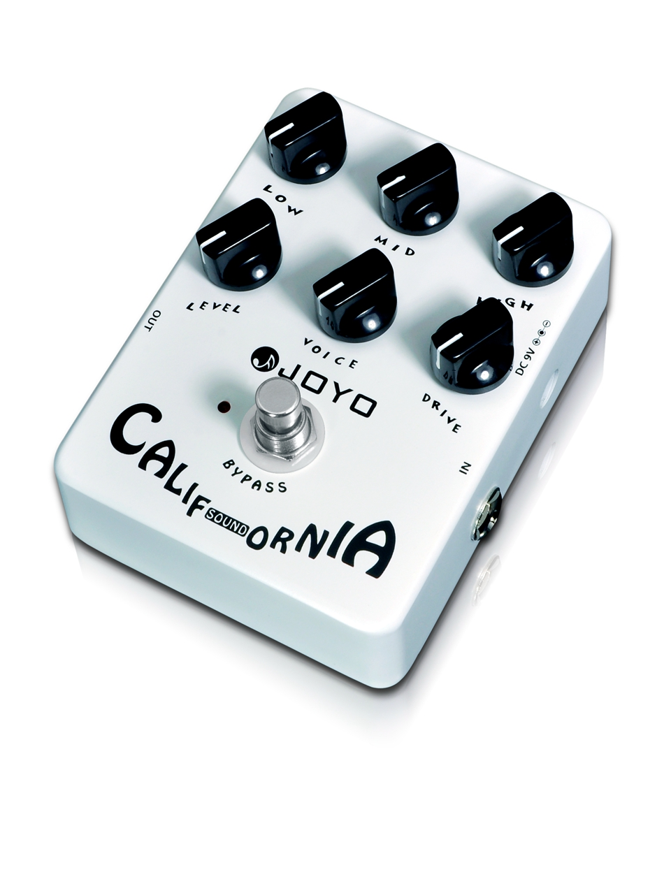 JOYO California sound Guitar Pedal High-gain Lead Sound Effect&6 Knobs JF-15 Effect Pedal Electric Guitar Accessories цена