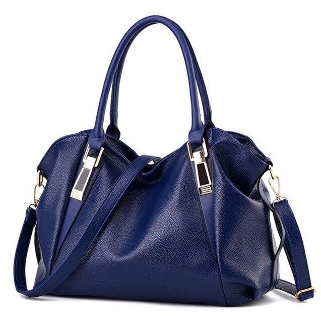 Designer de moda de Alta Qualidade Bolsas De Couro PU Mulheres Bolsas Das Senhoras bolsa de Ombro Portátil Saco de Escritório Senhoras Crossbody Sacos
