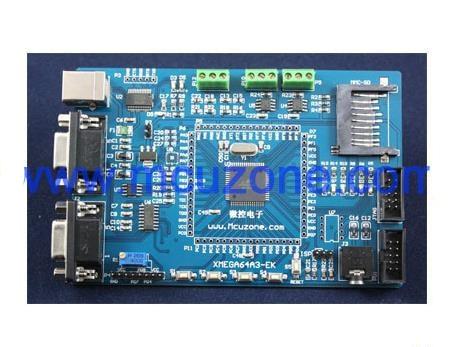 Free Shipping! 1pc AVR ATXMEGA64A3-EK development board