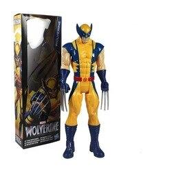 Новинка 2020 Бесплатная доставка Marvel Super Hero X-men Росомаха ПВХ фигурка коллекционная игрушка 12