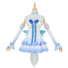 Hot Sale Anime Cosplay Vsinger Luo Tianyi Women Cos Daily Clothes Skirt Autumn Sleeps Series Full Set Halloween Party Dress