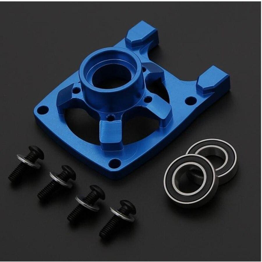 Alliage d'aluminium forte Dissipation thermique moteur embrayage tasse couvercle Kit adapté pour 1/5 RC LOSI 5IVE-T Rovan LT télécommande jouets voiture