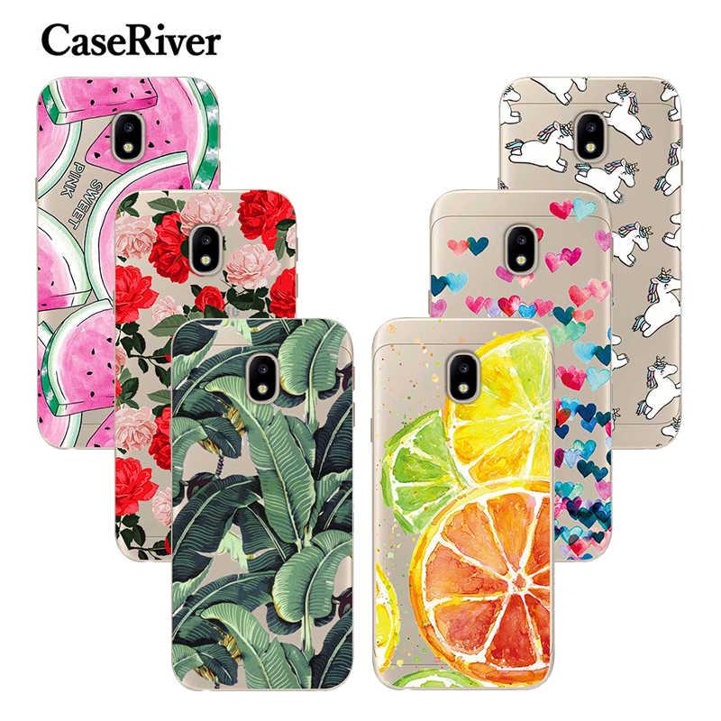 CaseRiver FOR Funda Samsung Galaxy J7 2017 Case Cover FOR Coque Samsung J7 2017 Case Phone J730 EU Soft Silicone J7 2017 Capa