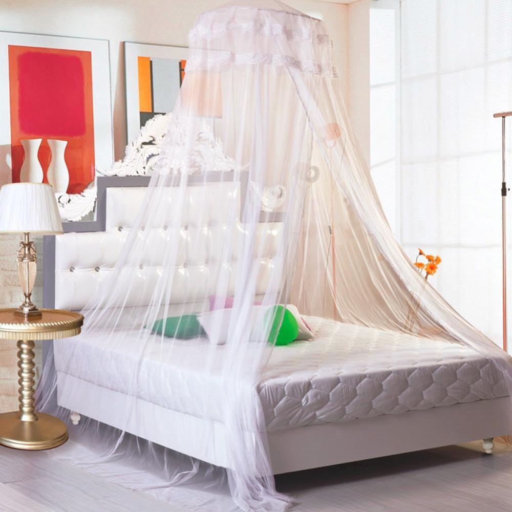 nueva elegante princesa cpula mosquitera cama de malla de encaje colgando cama dosel camas iluminado