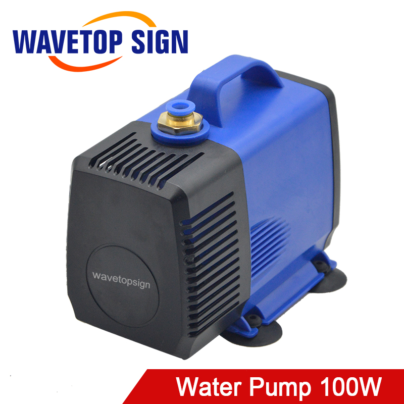 Water Pump 100W 4.5M 4500L/H IPX8 220V for CO2 Laser Engraving Cutting Machine цена и фото
