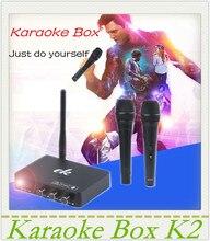 Mezclador de Karaoke sistema de máquinas de Karaoke Karaoke Mixer Echo k2-Cantar una canción de su tv androide pc, ordenador y la mesa