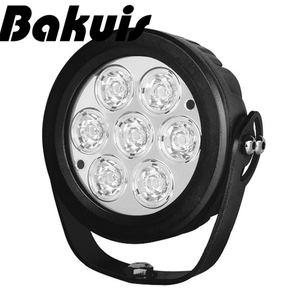 Bakuis 6inch 70W LED Work Light Tractor 4x4 SUV ATV LED Offroad Fog light 12v 24v IP76 Spot / Flood LED Drive Light
