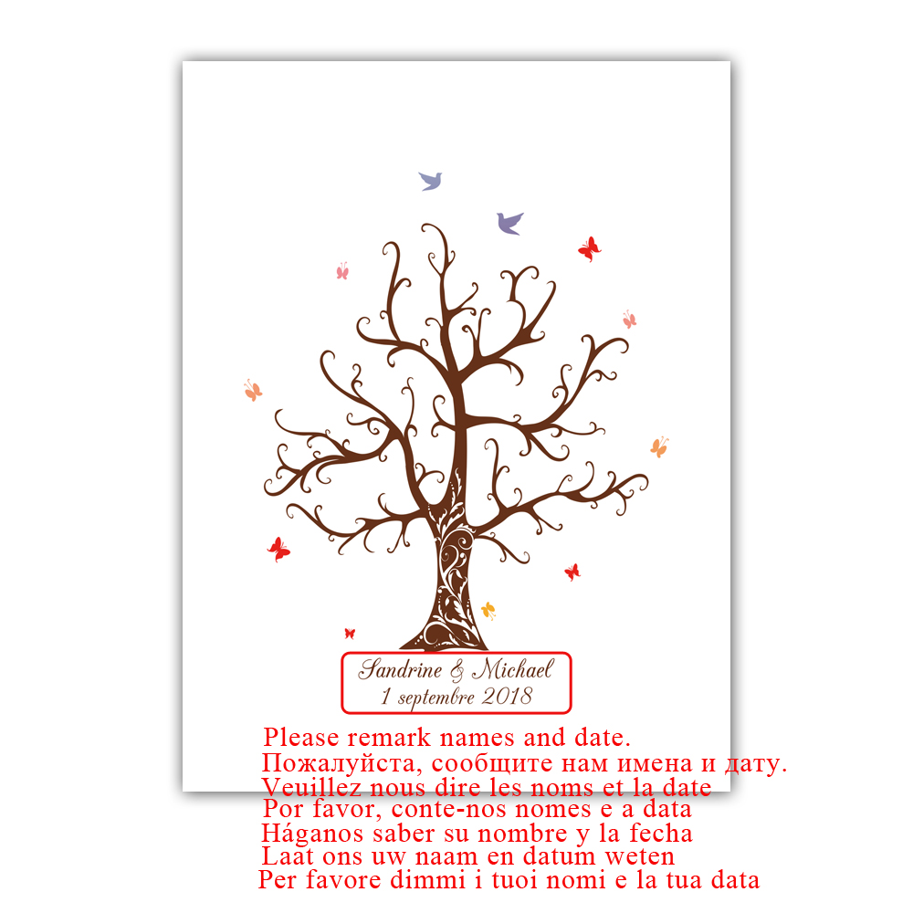 Free-Custom-Name-Date-DIY-Fingerprint-Signature-Guest-Book-Canvas-Print-Wedding-Tree-For-Party-Decoration (1)